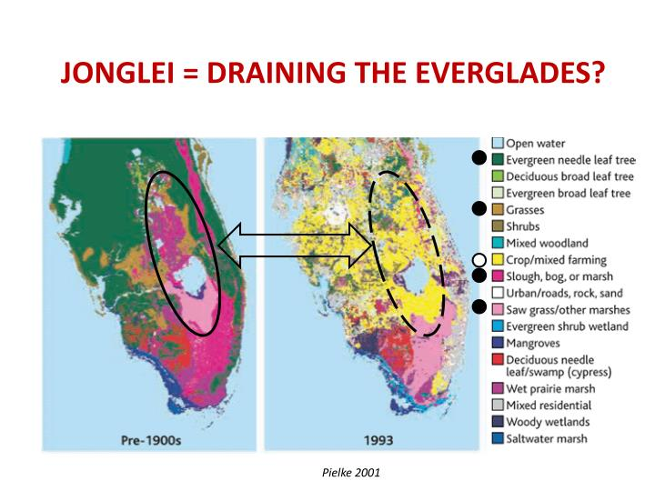 JONGLEI = DRAINING THE EVERGLADES?