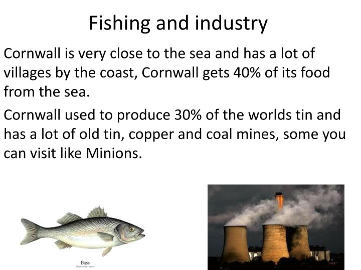 Fishing and industry
