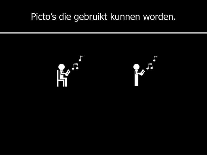 Picto's
