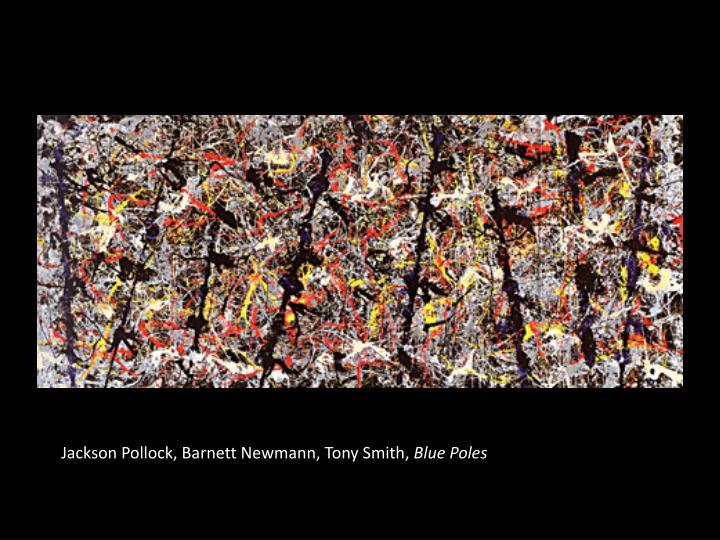 Jackson Pollock, Barnett