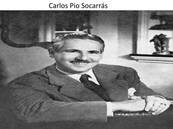 Carlos Pio Socarrs
