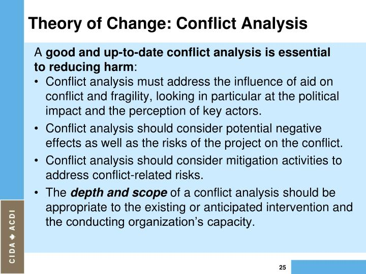 change and conflict theories and change Linkages between the conflict and environment/climate change perspectives   perspective and an integrated environment and climate perspective in.