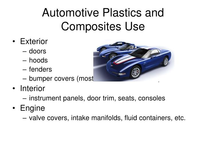 Automotive Plastics and Composites Use