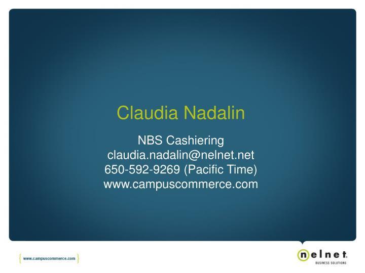 Claudia Nadalin