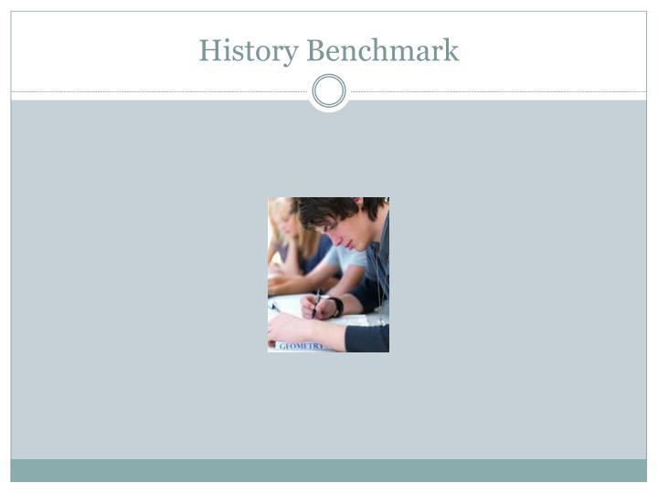 History Benchmark