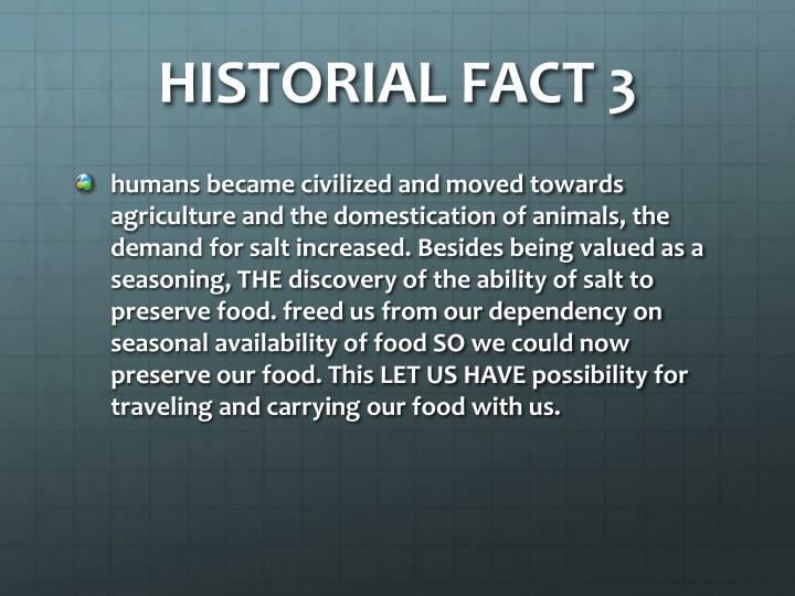 HISTORIAL FACT 3