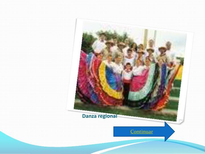 Danza regional