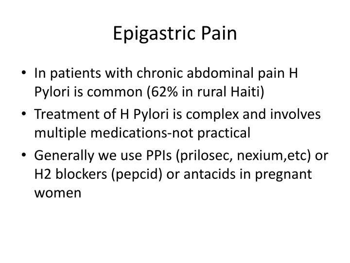 Epigastric