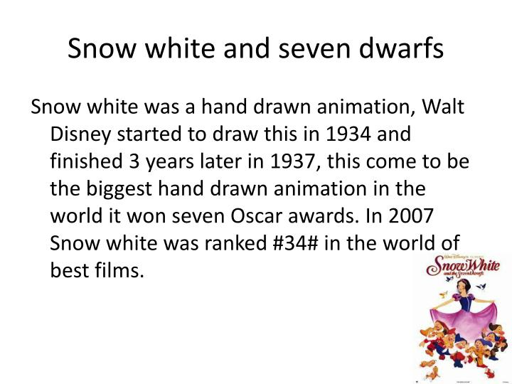 Snow white and seven dwarfs