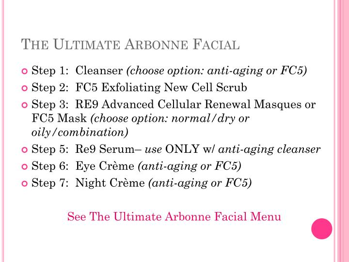 Ppt The Ultimate Arbonne Facial Party Girl S Night Out Powerpoint Presentation Id 2290565