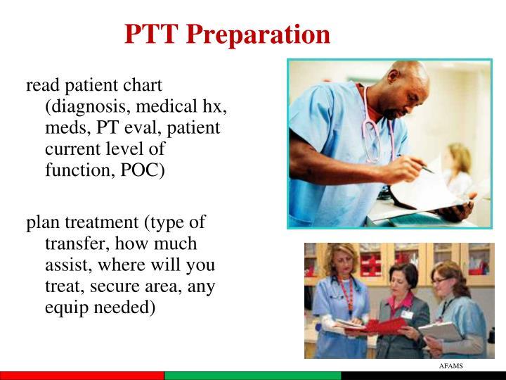 PTT Preparation