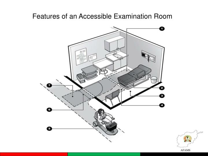 Features of an Accessible Examination Room