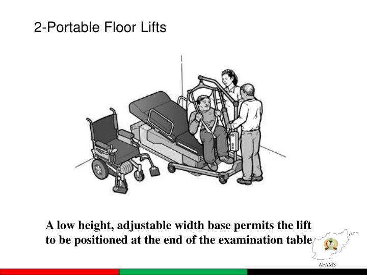 2-Portable Floor Lifts