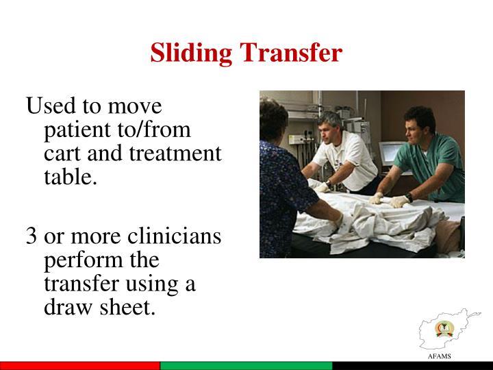 Sliding Transfer