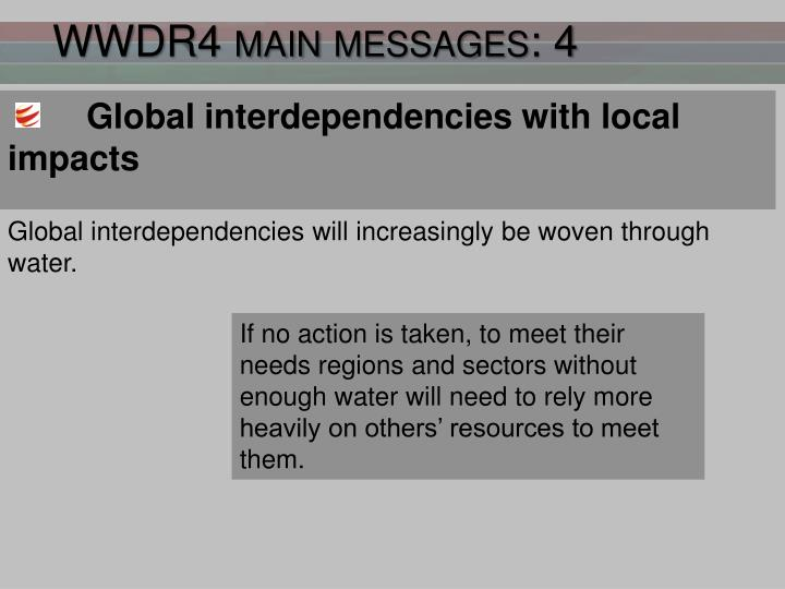 WWDR4 main messages: 4