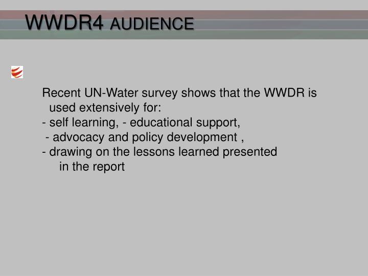 WWDR4 audience