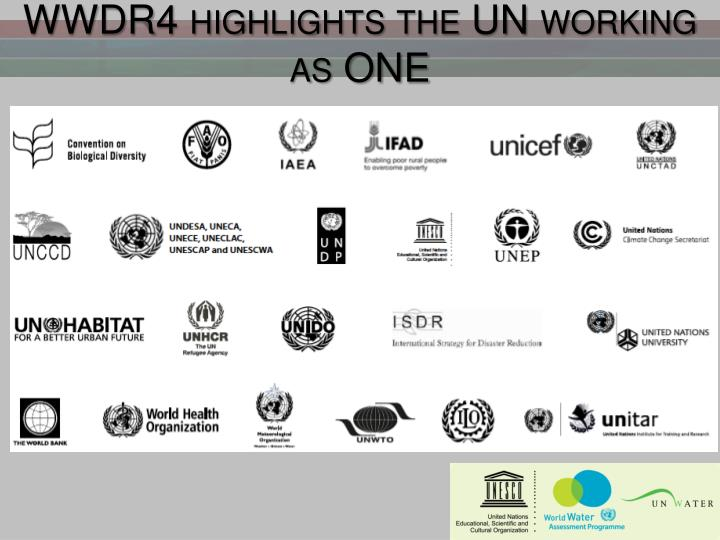 WWDR4 highlights the UN