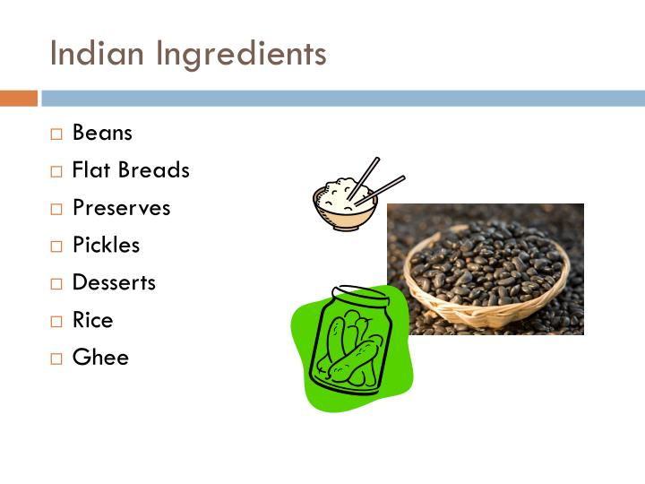Indian Ingredients