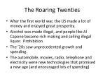 the roaring twenties1