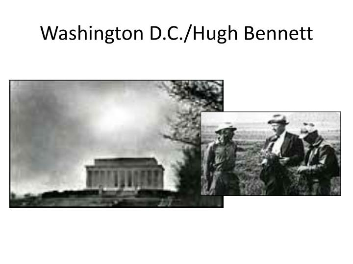 Washington D.C./Hugh Bennett
