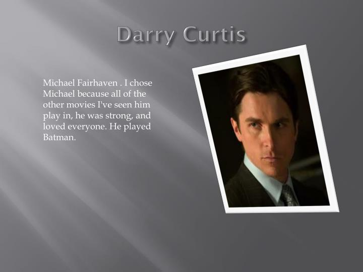 Darry Curtis