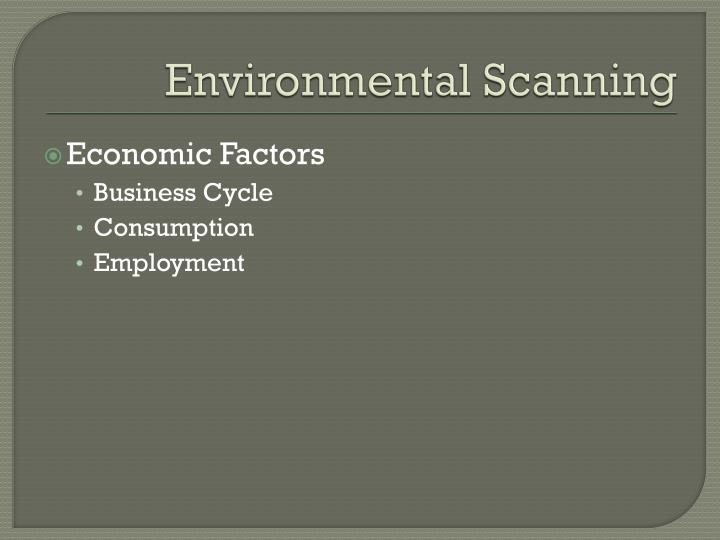 environmental scanning of toyota Environmental scanning is the process of gathering information about events and  their relationships within an organization's internal and external environments.