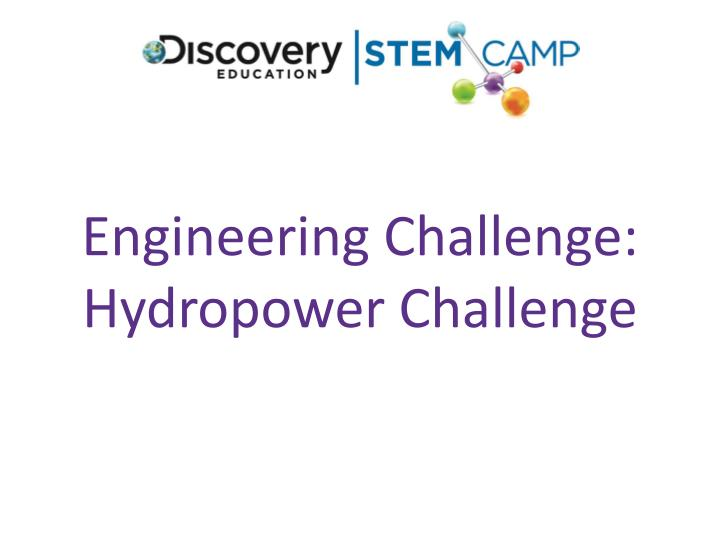 Engineering Challenge: