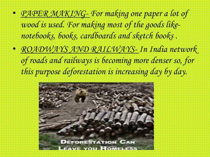 PAPER MAKING-