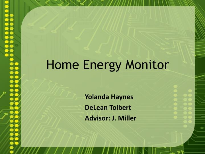 home energy monitor