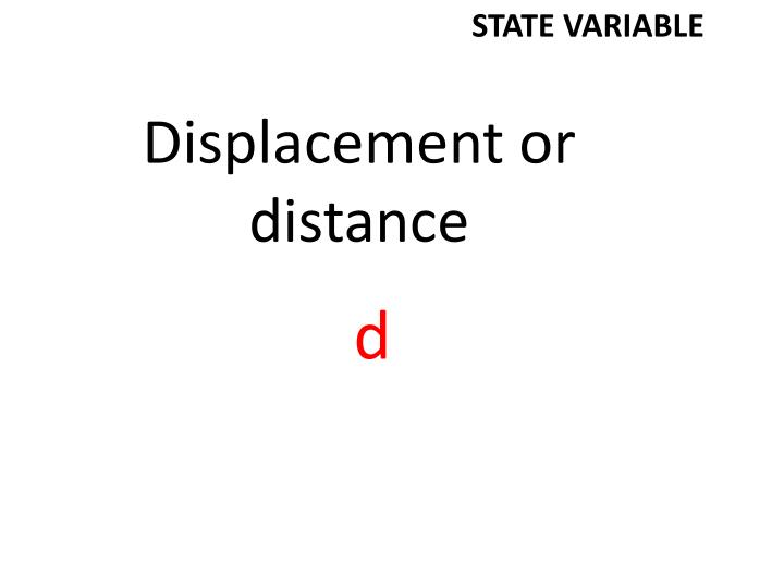 STATE VARIABLE