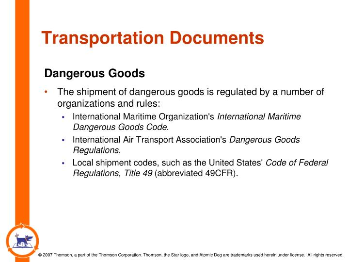 Transportation Documents