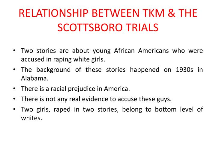 scottsboro trial essay The scottsboro trials and to kill a mockingbird - the scottsboro trial and the trial of tom robinson are almost identical in the forms of bias shown and the accusers that were persecuted the bias is obvious and is shown throughout both cases, which took place in the same time period.