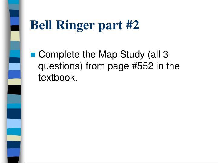 Bell Ringer part #2