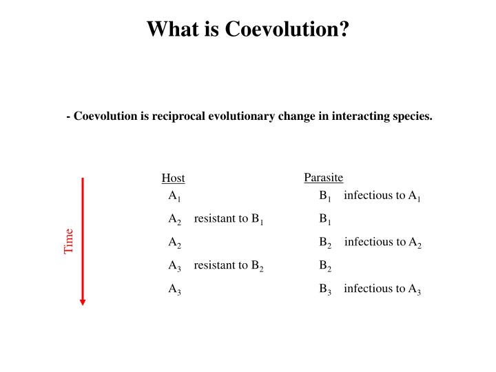 What is Coevolution?