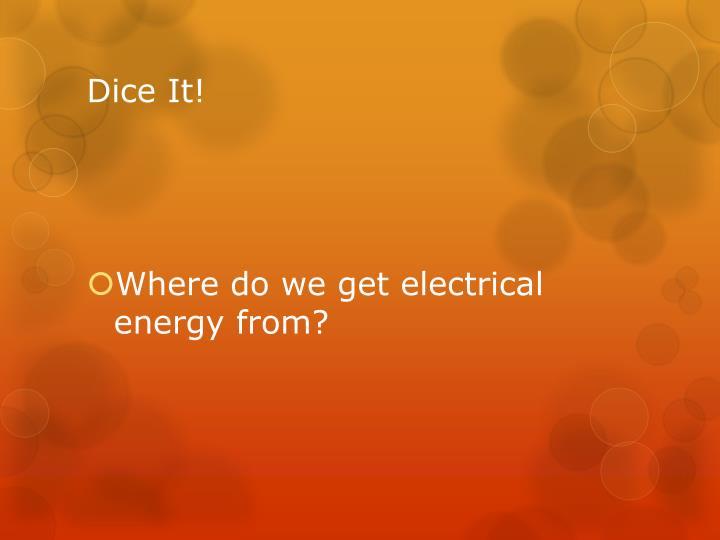 Dice It!