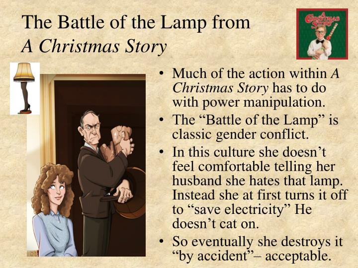 The Battle of the Lamp from