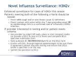novel influenza surveillance h3n2v