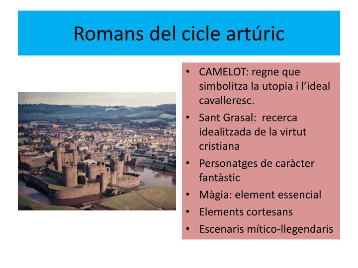 Romans del cicle artúric