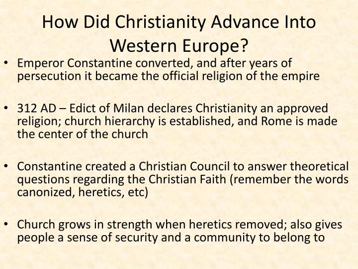 how did christianity effect western civilization How the catholic church built western civilization, by thomas e woods, jr the world, perhaps more than ever, needs books such as the one thomas woods, a professional historian and frequent contributor to latin mass magazine, has graciously written clearly modeled after such popular histories as.