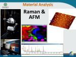 material analysis