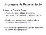 linguagens de representa o2