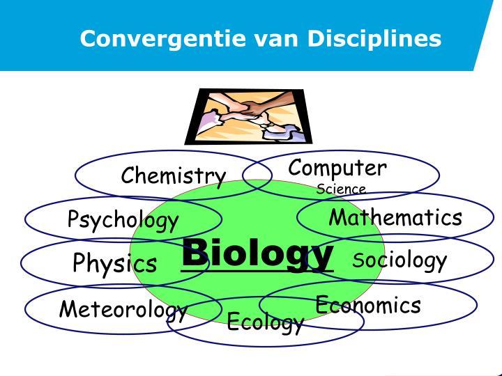 Convergentie van Disciplines