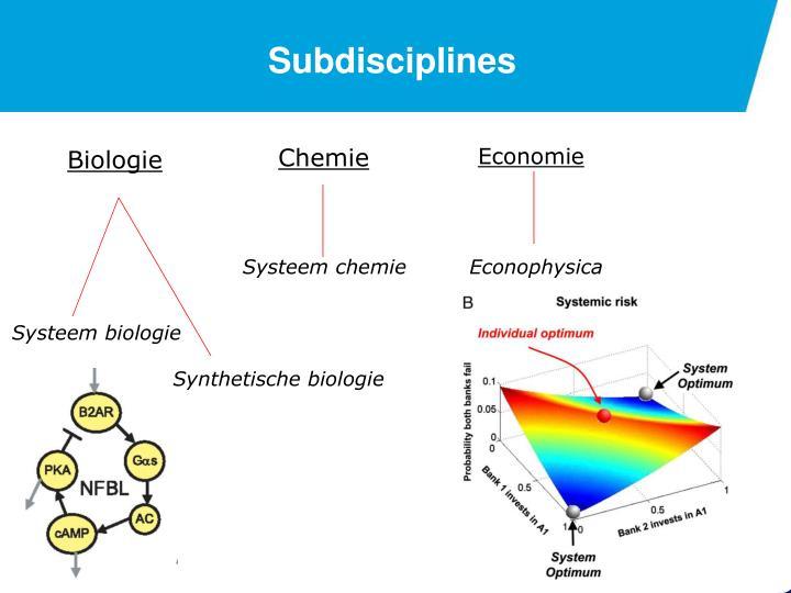 Subdisciplines