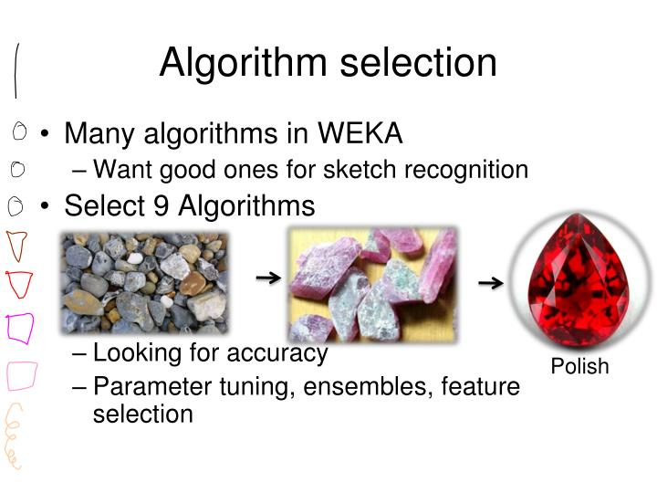 Algorithm selection