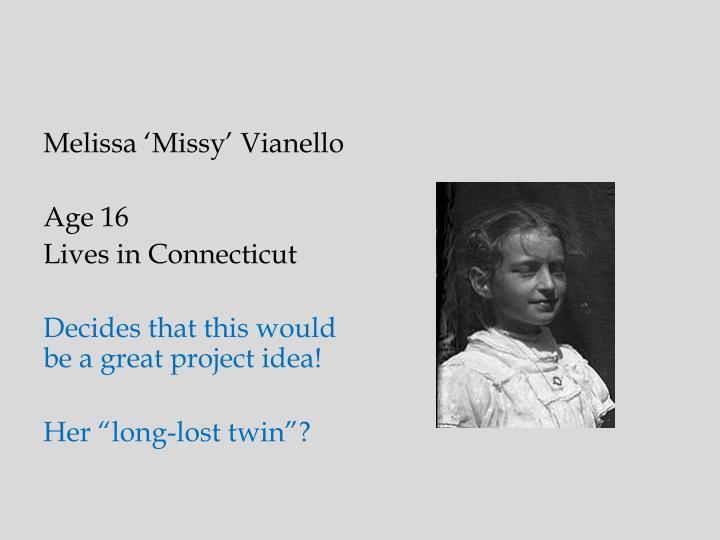 Melissa 'Missy' Vianello