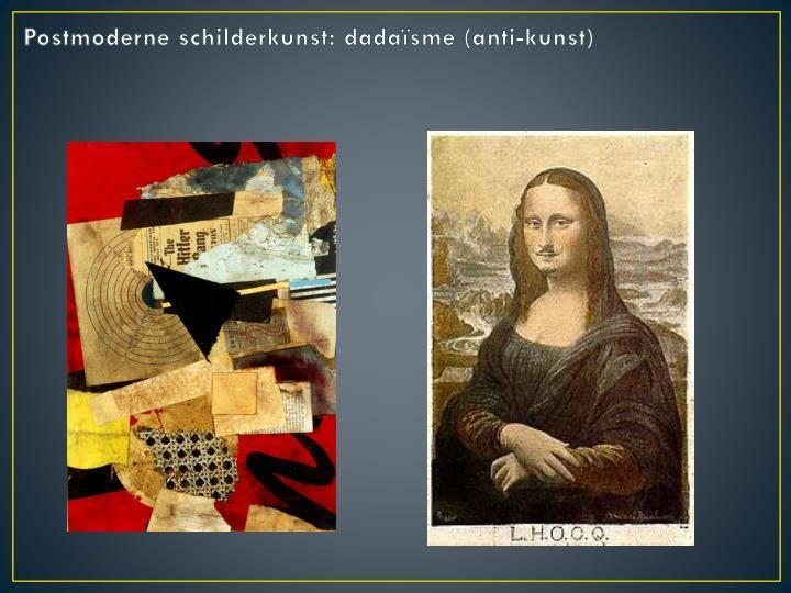 Postmoderne schilderkunst: d