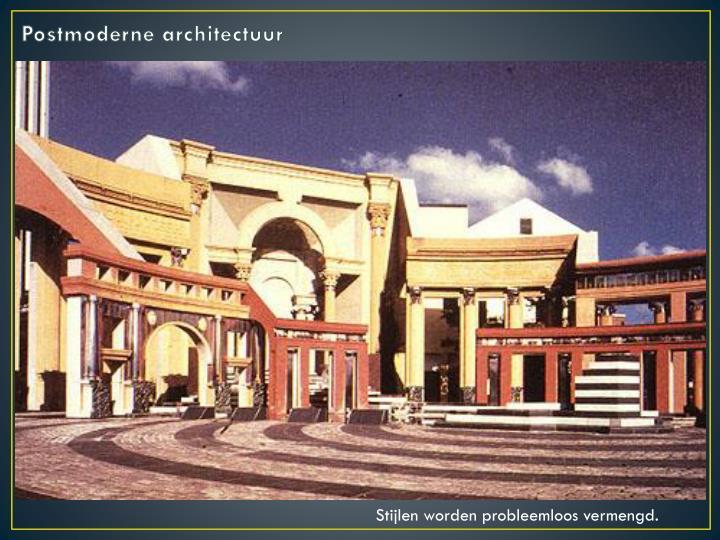 Postmoderne architectuur