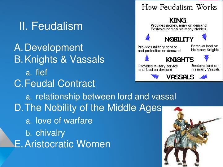 II. Feudalism