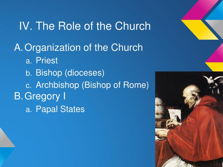 IV. The Role of the Church