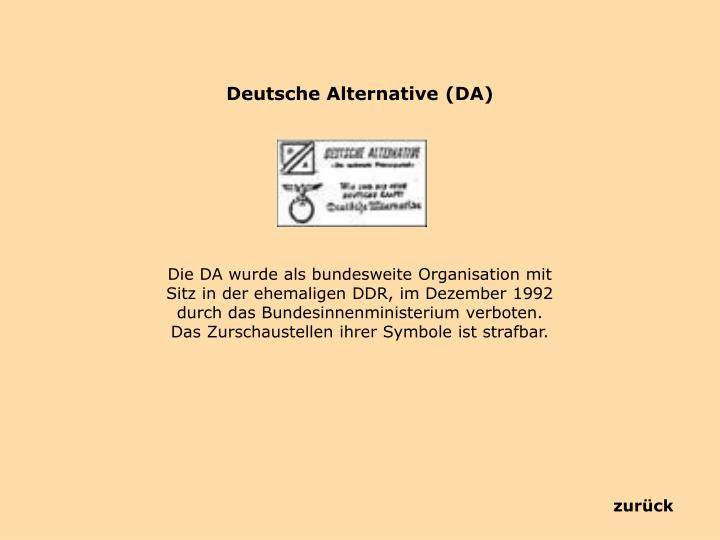 Deutsche Alternative (DA)